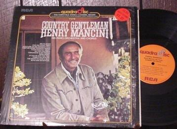 HENRY MANCINI RARE '74 QUAD LP COUNTRY GENTLEMAN