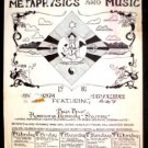 TEXAS METAPHYSICS'81 Poster RAJA RAO Big Boys ASD