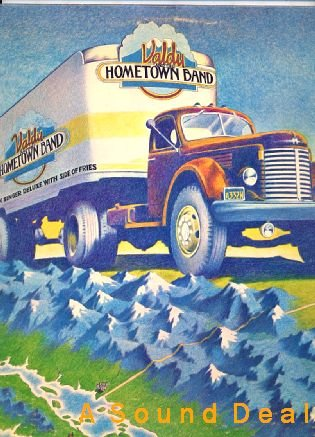 VALDY & HOMETOWN BAND OG'76 LP OOP CANADIAN FOLK