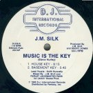 "JM SILK CLASSIC 12"" MUSIC IS THE KEY FREESTYLE HOUSE DJ"