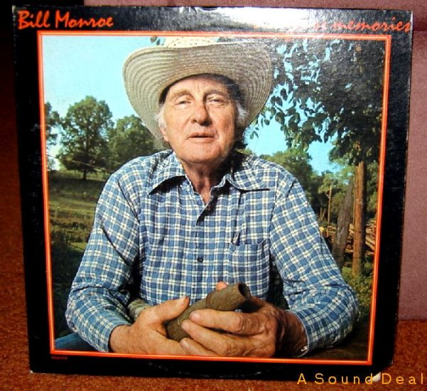 BILL MONROE Bluegrass Memories LP Out of Print Original