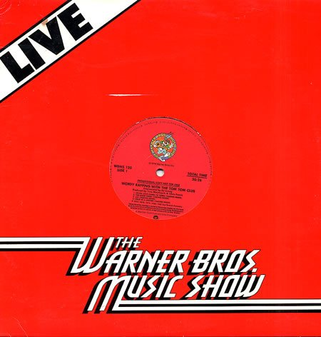 TOM TOM CLUB WORDY RAPPING TALKING HEADS'82 RADIO DJ LP