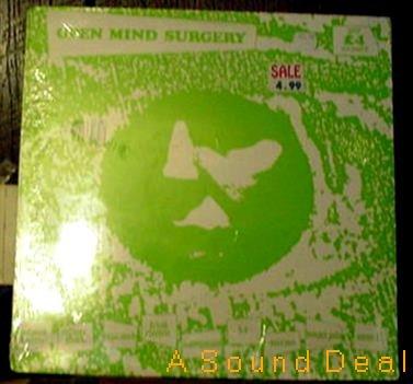 OPEN MIND SURGERY SEALED'86 PUNK COMP LP CULTURE SHOCK+