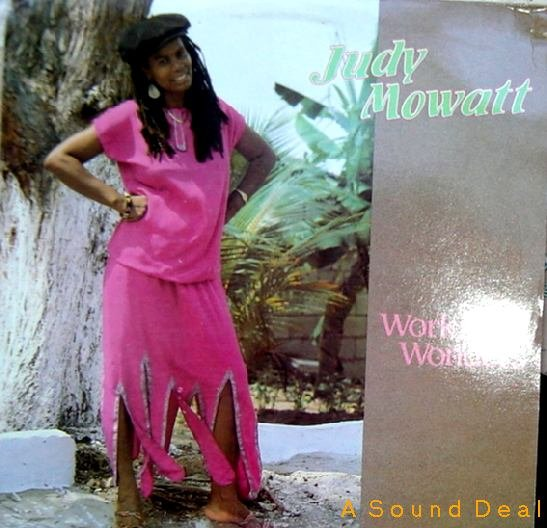 JUDY MOWATT '87 Working Wonders LP + PHOTO + PRESS