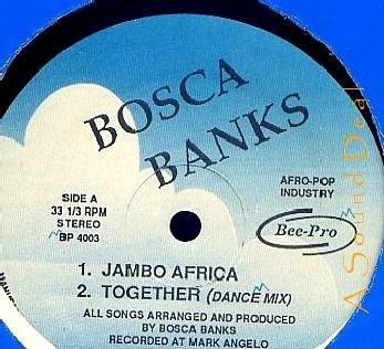 "BOSCA BANKS Jambo Africa Bee-Pop Afro 12"" ASD"