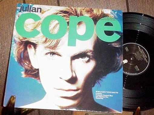 JULIAN COPE OG OOP '84 LP WORLD SHUT YOUR MOUTH