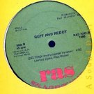 "RUFF AND REDDY RARE '86 RAS DJ 12"" FAT A CARRY DE SHOT"