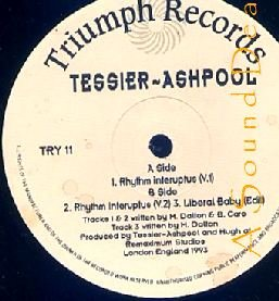 "TESSIER ASHPOOL HTF '93 UK TRIBAL 12"" RHYTHM INTERUPTUS"