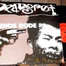 DEADSPOT SCARCE HARDCORE GENIUS PUNK LP ADIOS DUDE