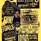 UNCLE TUPELO Yo La Tengo BOREDOMS '93 Poster ASD