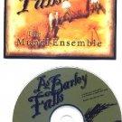 MUNDI ENSEMBLE TEXAS WORLD FUSION CD AS BARLEY FALLS