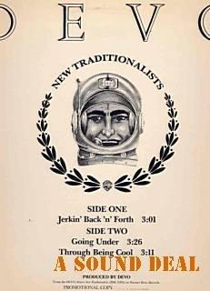 "DEVO 1983 12"" NEW TRADITIONALISTS JERKIN' PROMO ONLY PS"