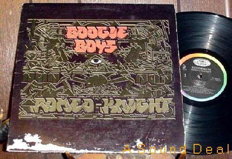 BOOGIE BOYS ROMEO KNIGHT LP OOP ORIGNL'88 OLDSKOOL RAP