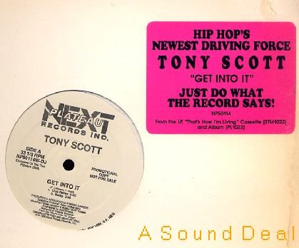 "TONY SCOTT Get Into It '90 DJ 12"" HIP HOUSE"