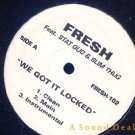 "FRESH STAT QUO SLIM THUG 12"" WE GOT IT LOCKED Random"