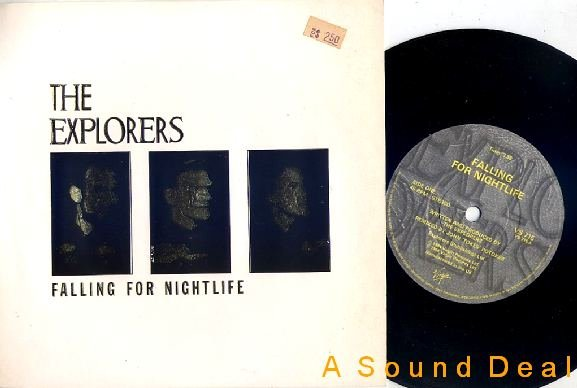 "EXPLORERS Falling for Nightlife UK 7"" MacKay Manzanera"