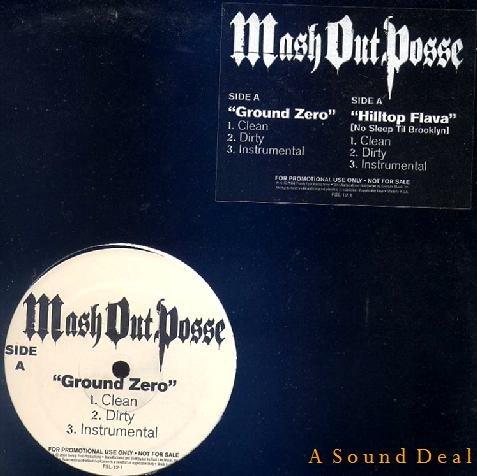 """MASH OUT POSSE M.O.P. OG'04 12"""" GROUND ZERO"""