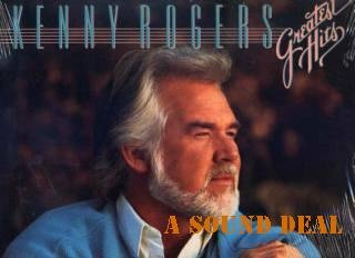 KENNY ROGERS STILL SEALED GREATEST '88 LP DOLLY PARTON
