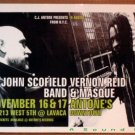 JOHN SCOFIELD VERNON REID Texas Gig POSTER jazz funk