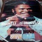 MAXWELL RARE NEO-SOUL '97 MTV UNPLUGGED PROMO POSTER