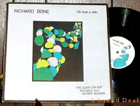 "RICHARD BONE RARE '82 UK SURVIVAL 12"" THE BEAT IS ELITE"