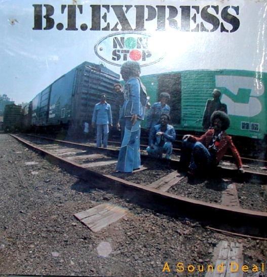 BT EXPRESS NON STOP ROADSHOW '75 LP STILL SEALED FUNK