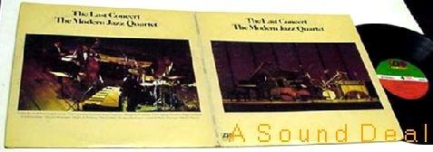MODERN JAZZ QUARTET LAST CONCERT OG'74 ATLANTIC GF 2 LP