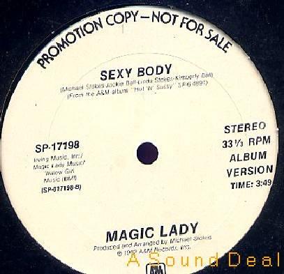 "MAGIC LADY SEXY BODY '82 DJ 12"" URBAN FUNK MODERN SOUL"