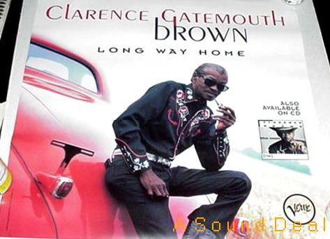 CLARENCE GATEMOUTH BROWN '96 BLUES POSTER LONG WAY HOME