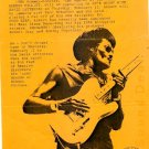 ALBERT COLLINS David Letterman BLUES'87 HANDBILL Poster
