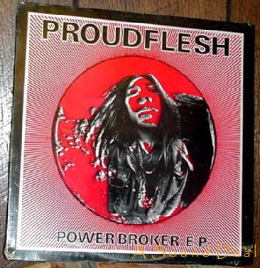 PROUDFLESH STILL SEALED '88 CRUCIFIX POWER BROKER EP