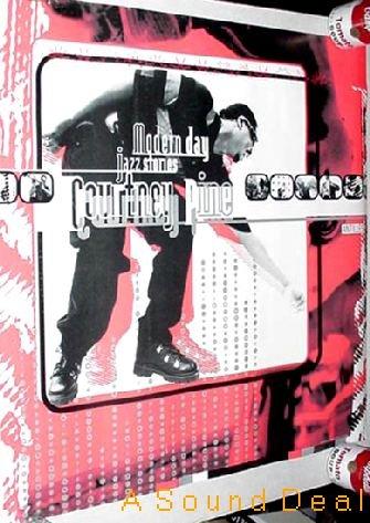 COURTNEY PINE Modern Day Jazz Stories RARE '95 Poster