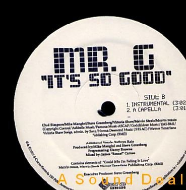 "GOOFY MR G HTF 12"" IT'S SO GOOD DANCEHALL COULD FALLING"