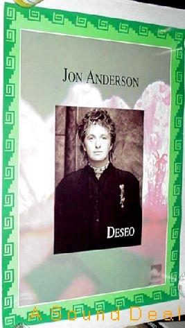JON ANDERSON DESEO SCARCE ORIGINAL '94 PROMO POSTER YES