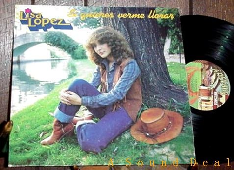 "LISA LOPEZ TEX-MEX LP + '79 AUTOGRAPHED DISCO 12"" HEAR!"