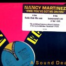 "NANCY MARTINEZ Fire '89 Freestyle DJ 12"" ASD"