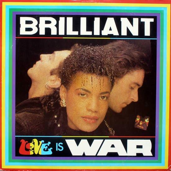 "BRILLIANT LOVE IS WAR Original '86 UK PS 12"" KLF ORB"