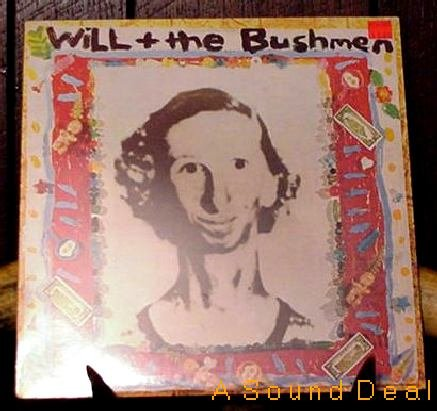 WILL + THE BUSHMEN '87 GAWK LP POWER POP INDIE SEALED!!