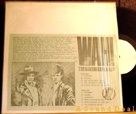 WAH! '81 TMOQ LP MAVERICK YEARS 80-81 Pete Wylie