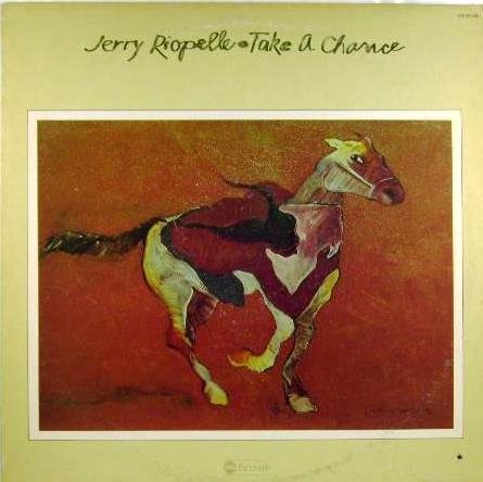 JERRY RIOPELLE HTF '75 LP TAKE A CHANCE FLEETWOOD MAC