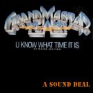 "GRANDMASTER FLASH ORIG'87 PS 12"" U KNOW WHAT TIME IT IS"