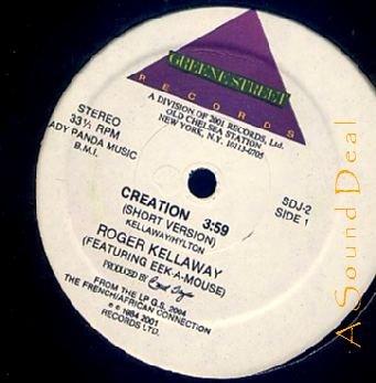 "ROGER KELLAWAY EEK-A-MOUSE RARE '84 12"" CREATION GREENE"