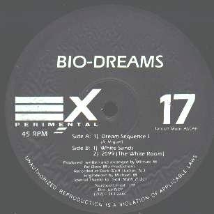 "BIO-DREAMS '93 EXPERIMENTAL 12"" DREAM SEQUENCE TRANCE"