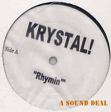 "KRYSTAL HARRIS RHYMIN' CRY NEVER DJ PROMO 12"" MINT! CCM"