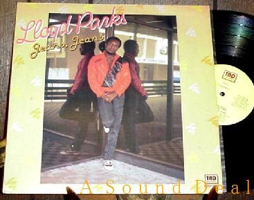 LLOYD PARKS RARE OOP '85 JEANS TAD'S LP WHEN YOU SMILE