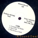 "AZ RARE AZIATIC SAMPLER 12""EP DJ PROMO ONLY GANGSTA WAX"