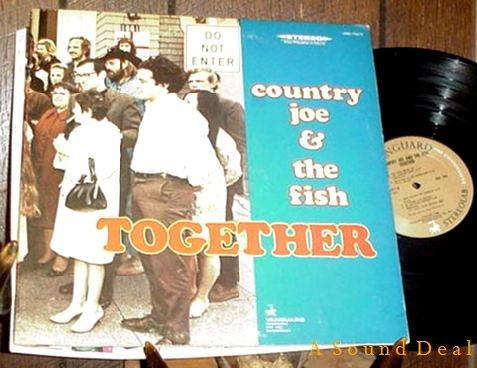 COUNTRY JOE & THE FISH TOGETHER LP CLEAN ORIGINAL'68 GF
