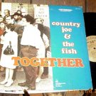 COUNTRY JOE & THE FISH TOGETHER LP CLEAN ORIGINAL'68 GF