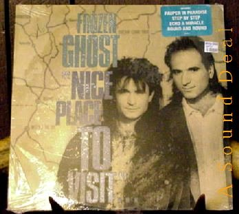FROZEN GHOST STILL SEALED'88 LP NICE PLACE TO VISIT AOR