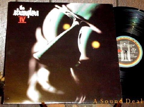 STRANGLERS IV '80 DJ PRO LP + SEALED BONUS EP + STICKER
